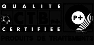Produits cerifiés CTB P+