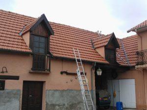 Nettoyage toiture à Juillan